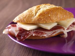 sandwich prosciutto crudo